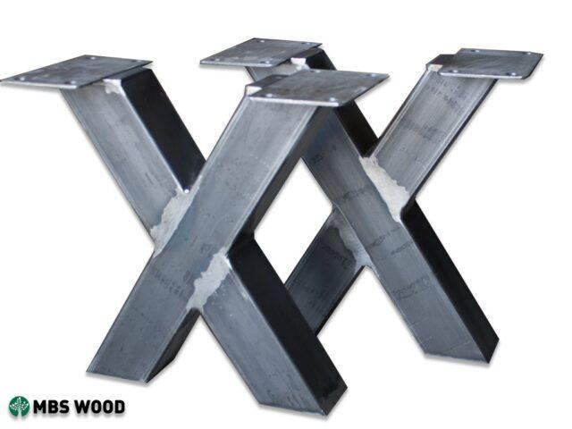 Patas de acero para mesa de centro