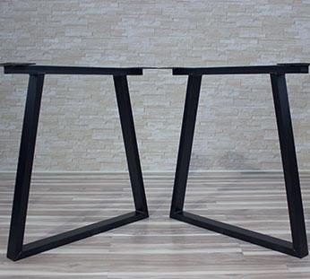 Patas trapezoidales de metal