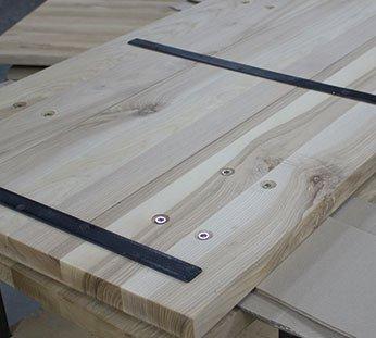 tablero de mesa de roble para mesa