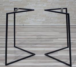 Mesa de centro patas de metal