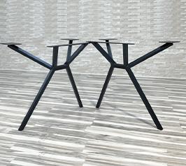 patas de metal para mesa