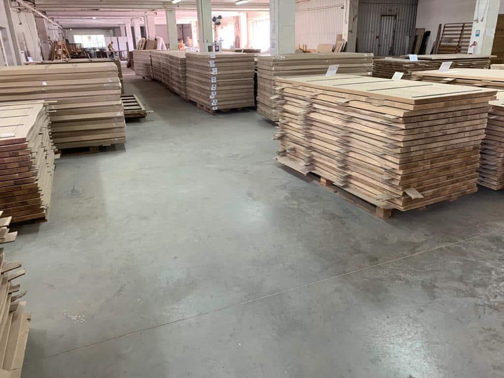 Mesas de roble mbs madera