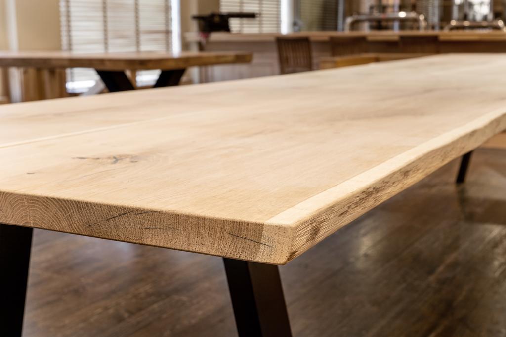 mesa de madera personalizada