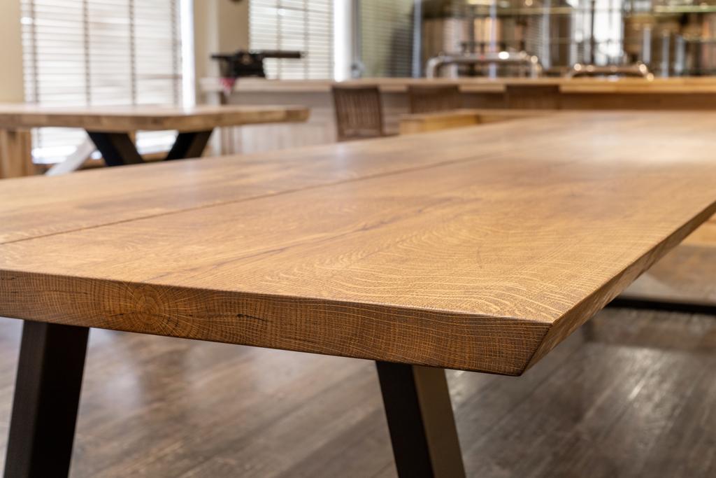 mesa de tamaño personalizado