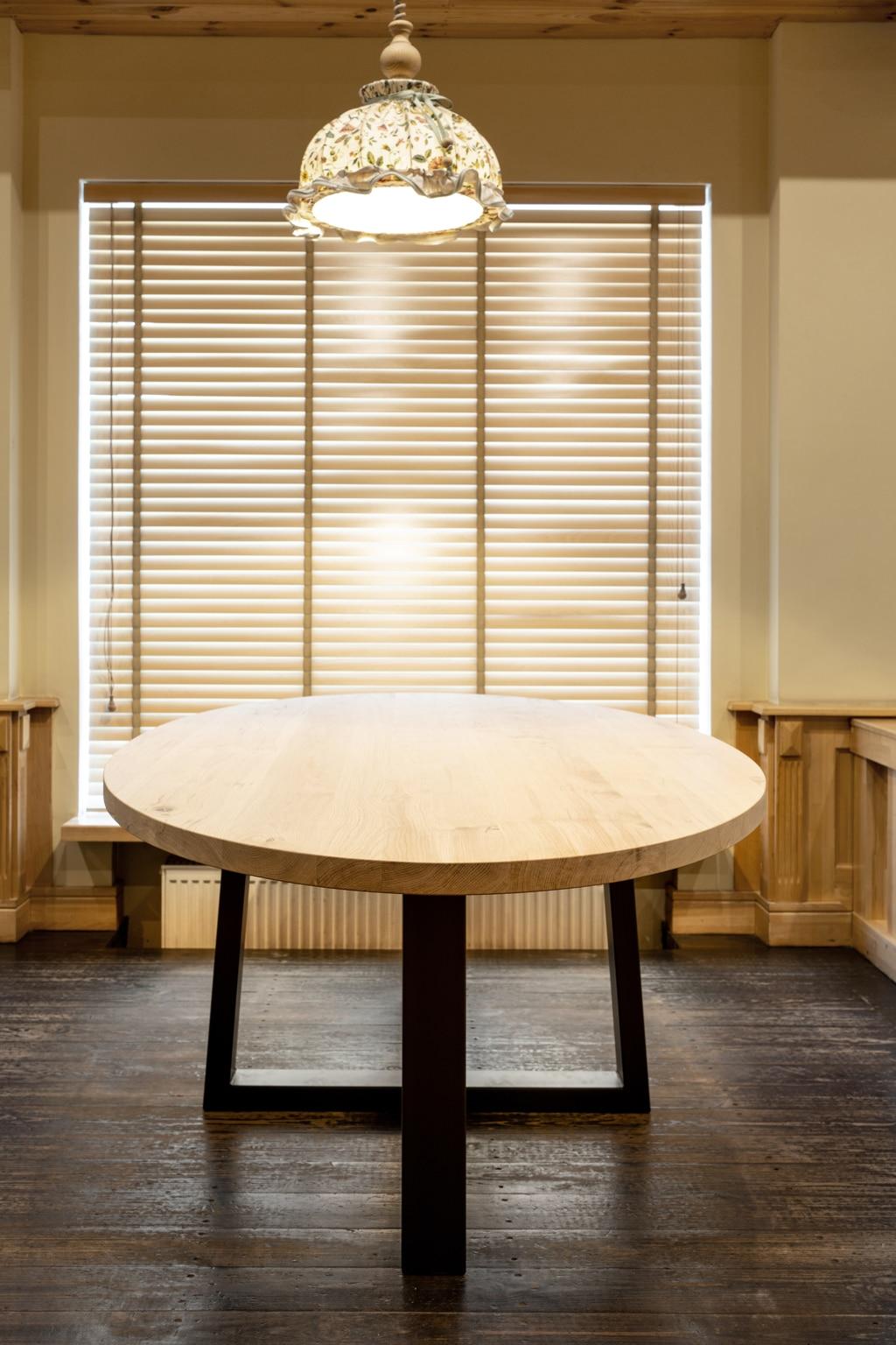 solo mesas redondas