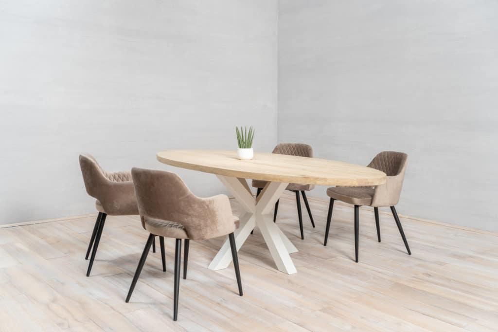mesa de cocina de madera diy